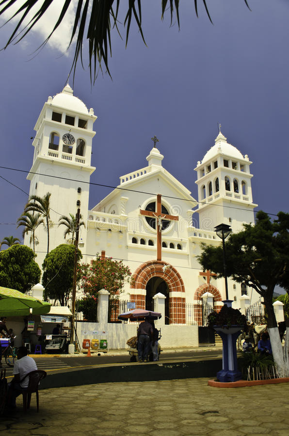 Iglesia DE Cristo Negro kathedraal royalty-vrije stock fotografie