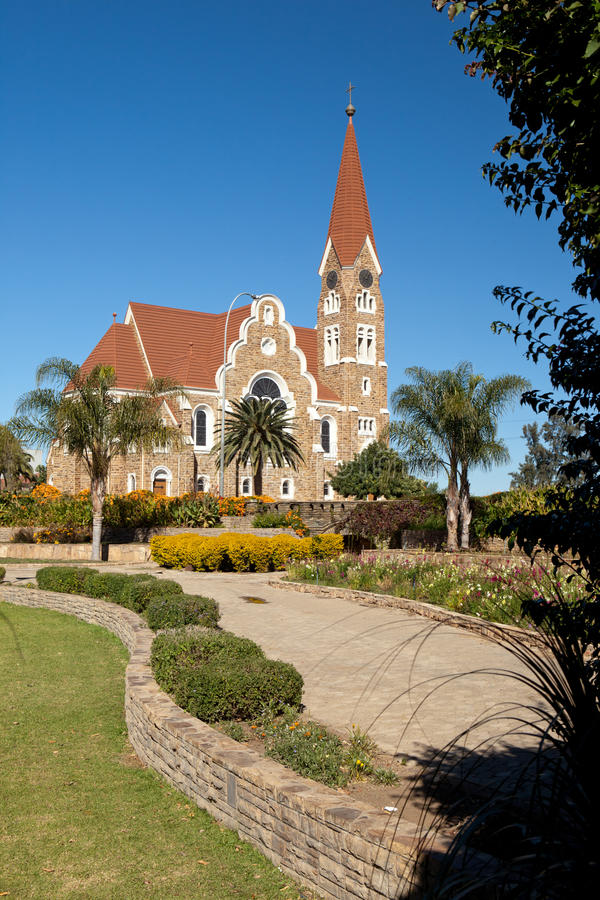 Iglesia de Cristo, Windhoek fotos de archivo