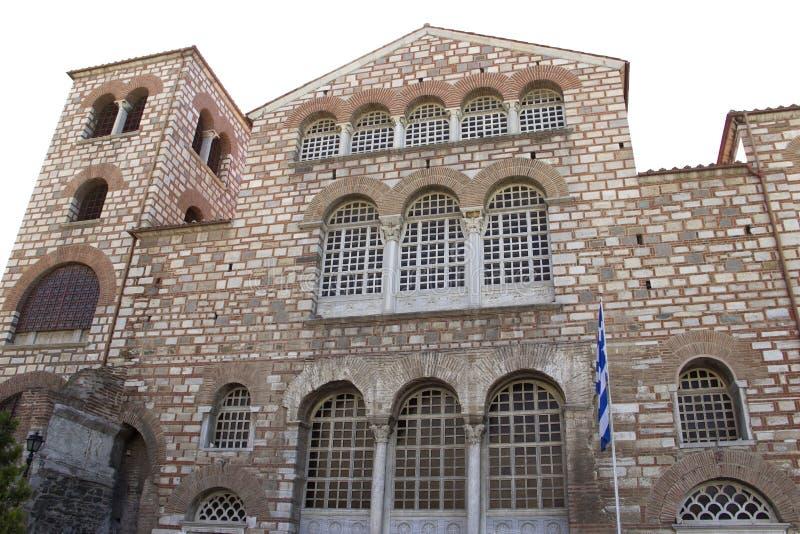 Iglesia de Dimitrios Christian Orthodox del santo en Sal?nica imagen de archivo libre de regalías