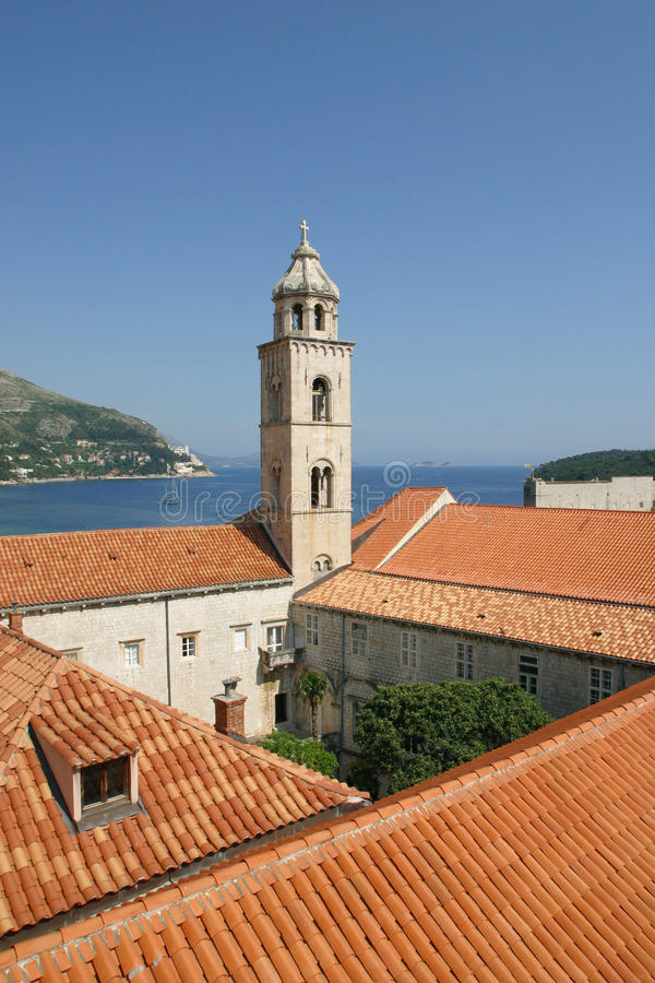 Iglesia de Dubrovnik Dominkan fotografía de archivo libre de regalías