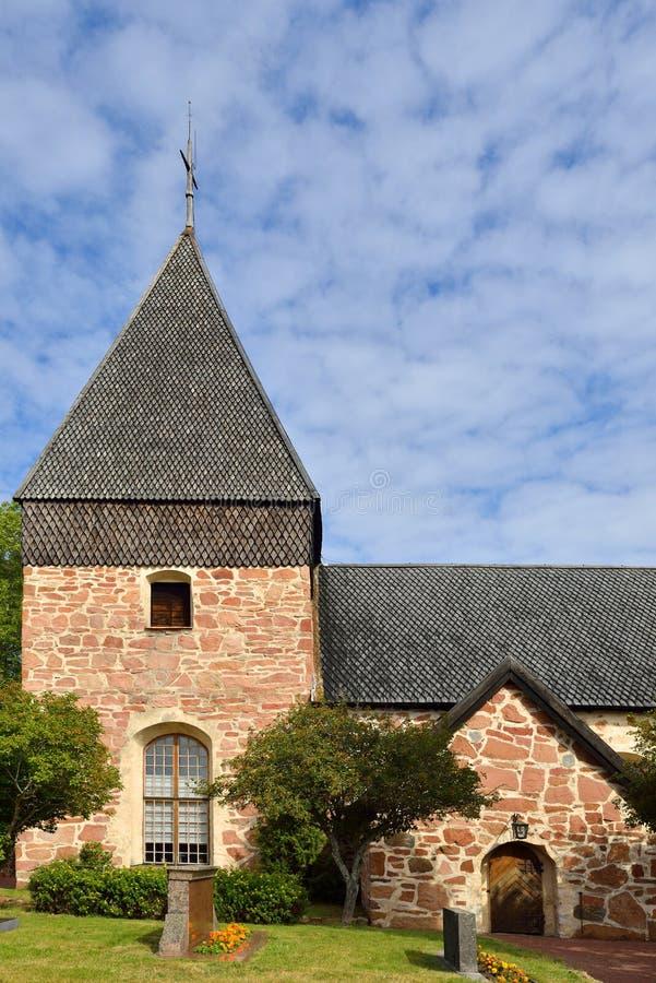 Iglesia de Eckero foto de archivo