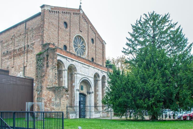 Iglesia de Eremitani foto de archivo libre de regalías