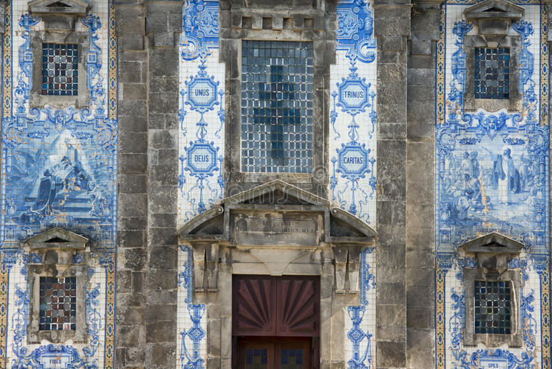 IGLESIA DE EUROPA PORTUGAL OPORTO IGREJA DE SANTA CLARA imagen de archivo