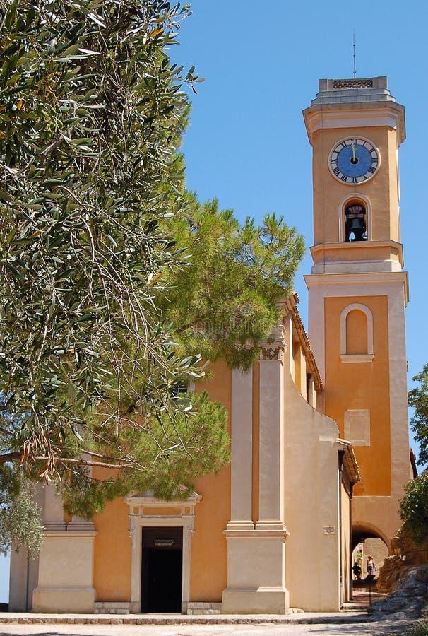 Iglesia de Eze fotografía de archivo