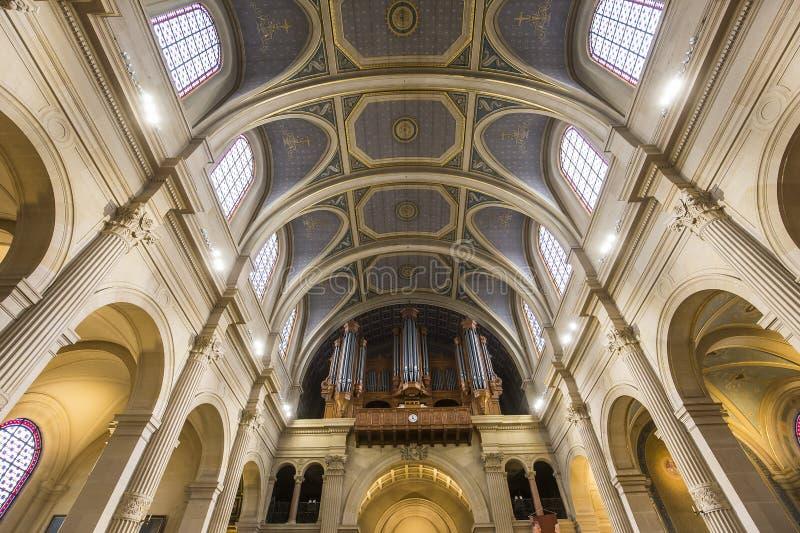 Iglesia de Francois Xavier del santo, París, Francia imagenes de archivo