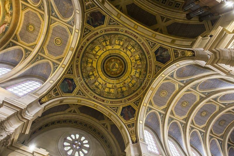Iglesia de Francois Xavier del santo, París, Francia imágenes de archivo libres de regalías