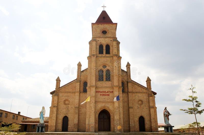 Iglesia de Gitarama imagenes de archivo