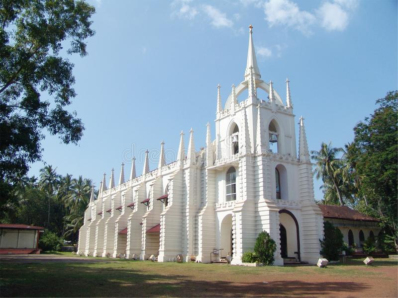 Iglesia de Goa imagen de archivo libre de regalías