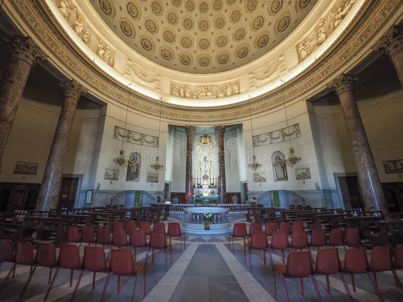Iglesia de Gran Madre en Turín foto de archivo