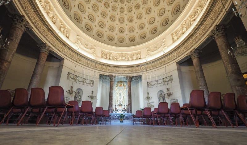 Iglesia de Gran Madre en Turín imágenes de archivo libres de regalías