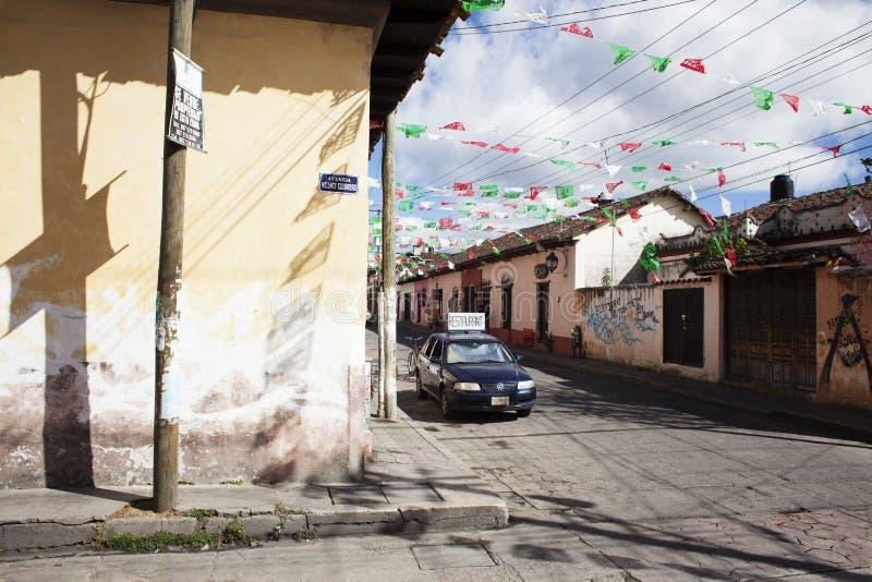 Iglesia De Guadalupe, San Cristobal De La Casas, Chiapas imagem de stock royalty free