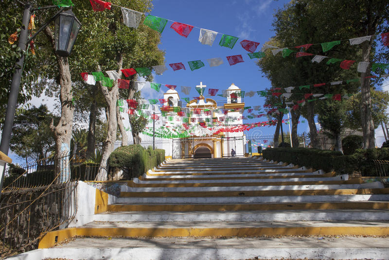 Iglesia De Guadalupe, San Cristobal De La Casas, Chiapas imagens de stock royalty free