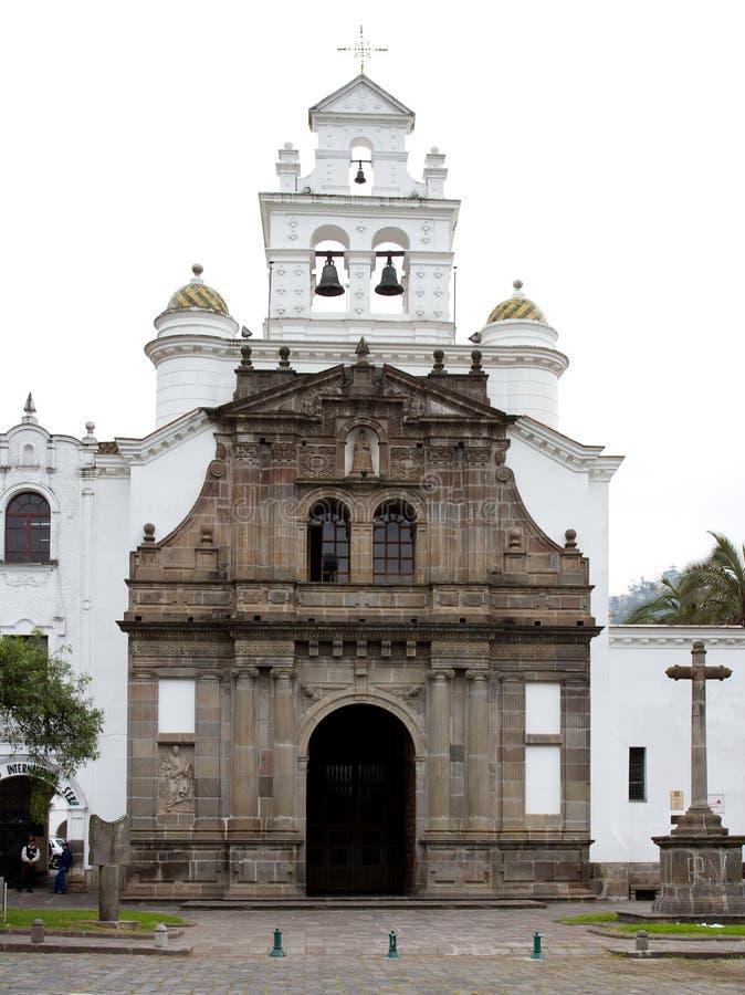 Iglesia de Guapulo (Quito) fotografía de archivo libre de regalías