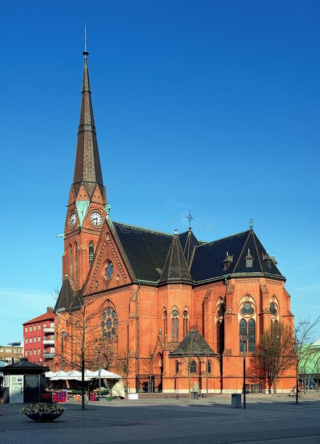 Iglesia de Gustavo Adolfo en Helsingborg, Suecia imágenes de archivo libres de regalías