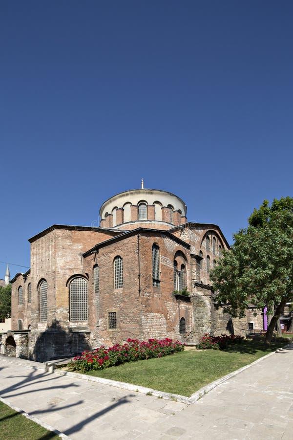 Iglesia de Hagia Irene, Estambul, Turquía imagen de archivo libre de regalías
