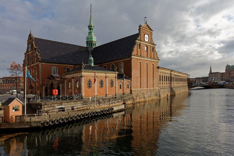 Iglesia de Holmen en Copenhague, Dinamarca foto de archivo libre de regalías