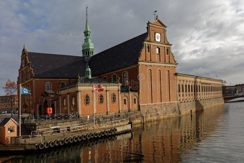 Iglesia de Holmen en Copenhague, Dinamarca imagen de archivo