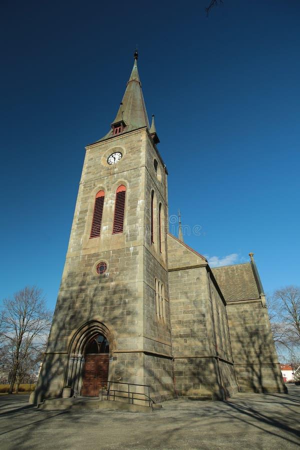 Iglesia de Ilen (Ila), Strondheim, Noruega imagenes de archivo