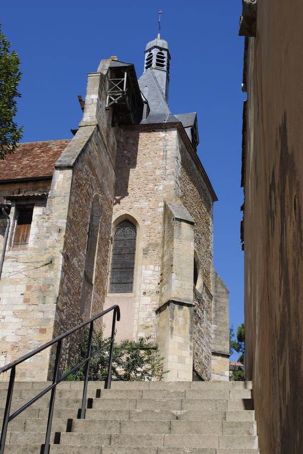 Iglesia de Jacques del santo imagen de archivo