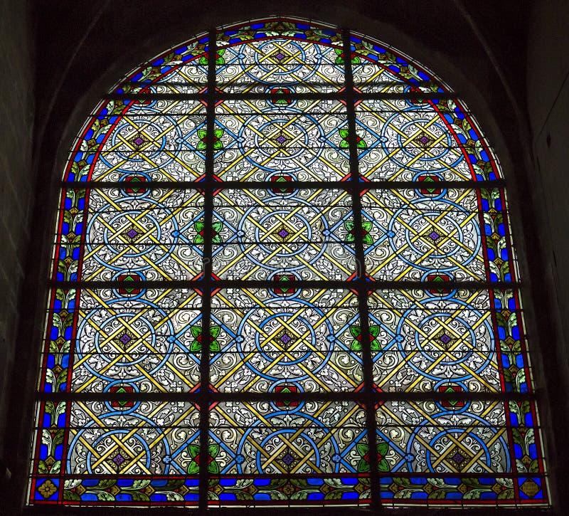 Iglesia de Jacques del santo, Compiegne, Oise, Francia fotos de archivo libres de regalías