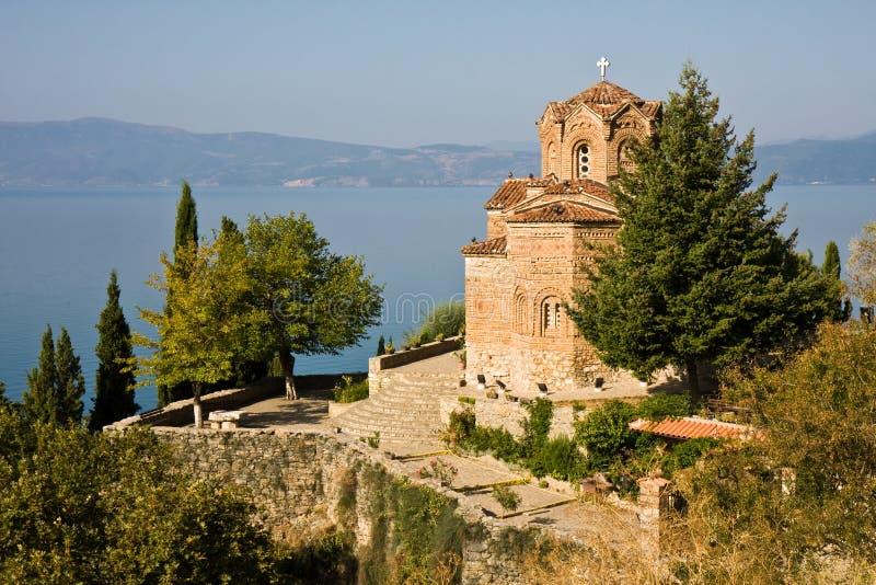 Iglesia de Jovan Kaneo fotos de archivo