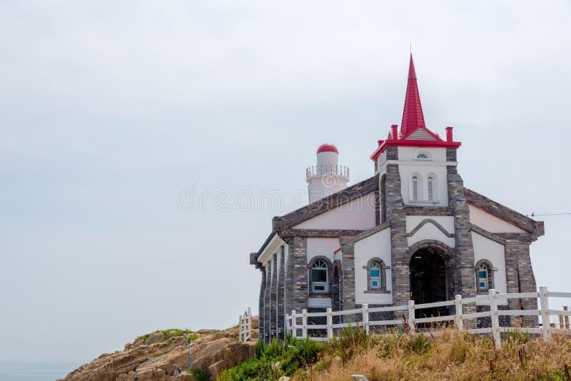 Iglesia de Jukseong en Busán, Corea del Sur imagen de archivo
