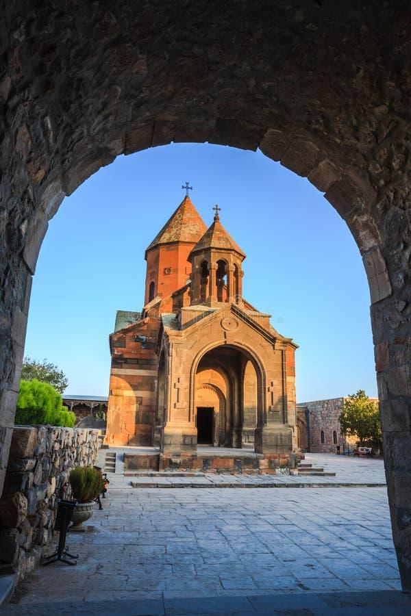 Iglesia de Khor Virap en Armenia fotos de archivo libres de regalías