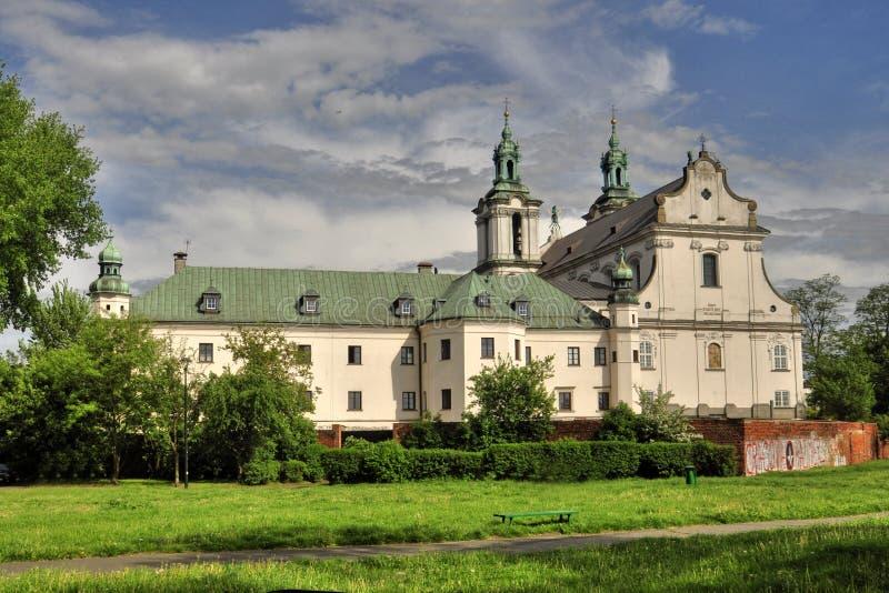 Iglesia de Kraków de St Michael Archangel imagen de archivo