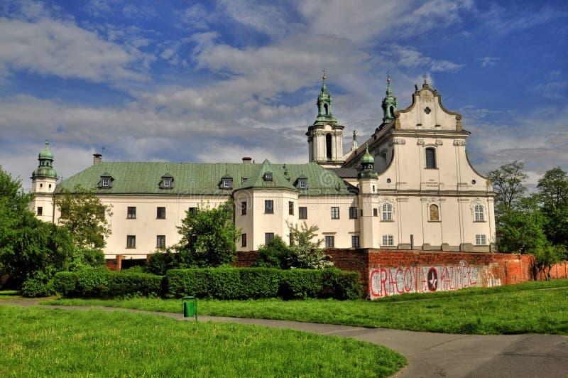 Iglesia de Kraków de St Michael Archangel fotos de archivo libres de regalías