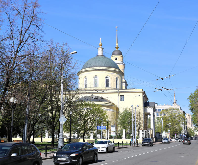 Iglesia de la ascensión del señor en Storozh imágenes de archivo libres de regalías