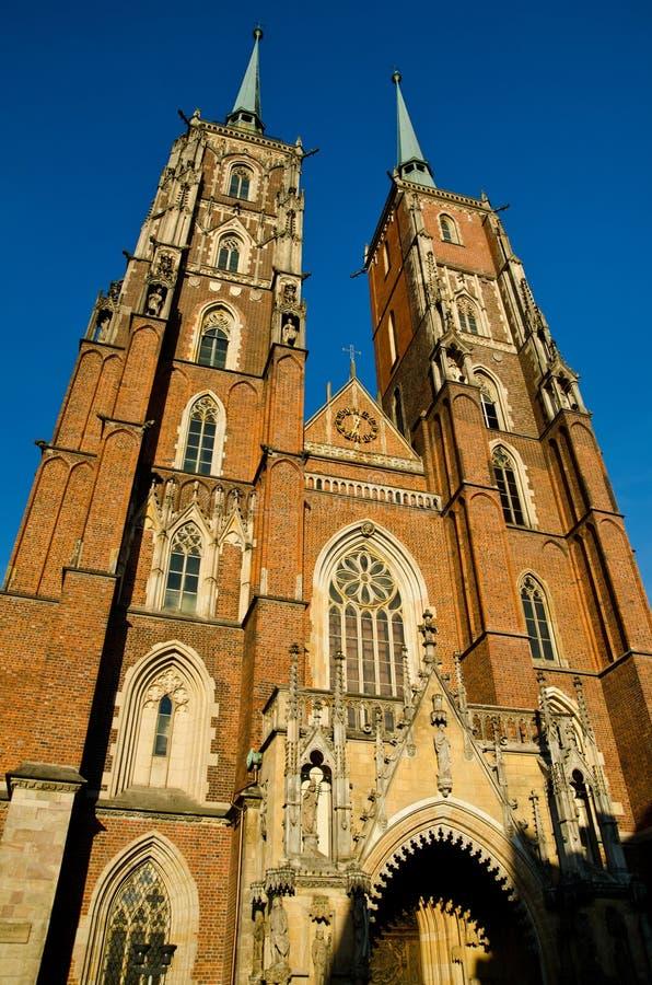 Iglesia de la catedral imagen de archivo libre de regalías