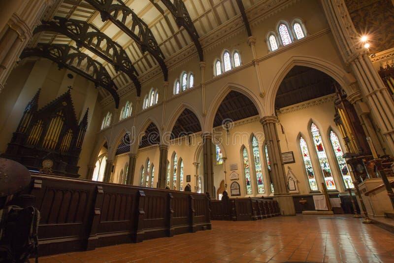 Iglesia de la catedral de San Jaime, Toronto foto de archivo libre de regalías