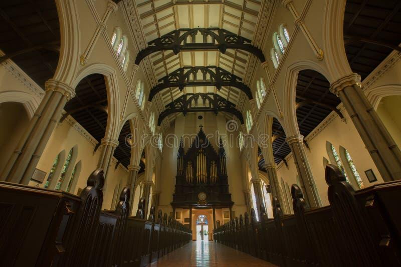 Iglesia de la catedral de San Jaime, Toronto imágenes de archivo libres de regalías