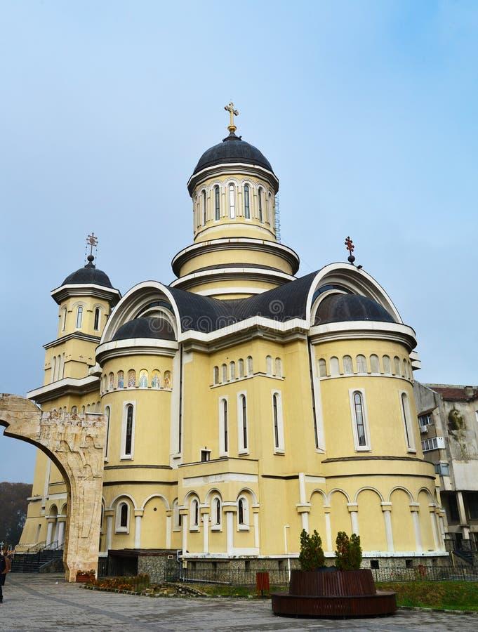 Iglesia de la ciudad de Caransebes imagen de archivo