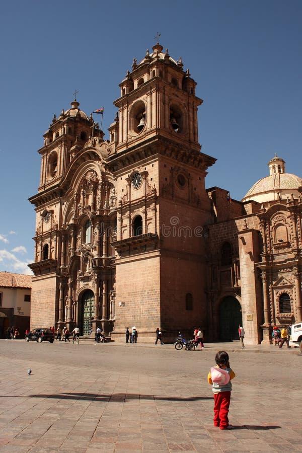 Iglesia de la Compania de Jésus images libres de droits