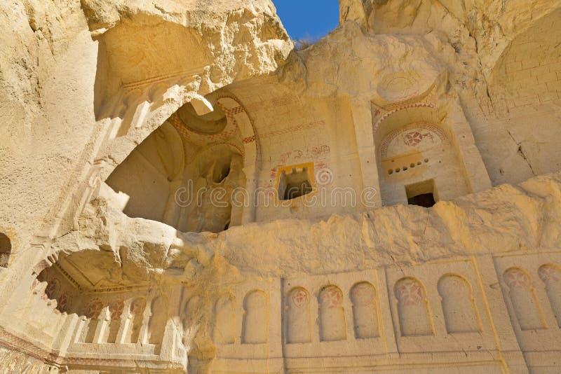 Iglesia de la cueva en Cappadocia imagen de archivo
