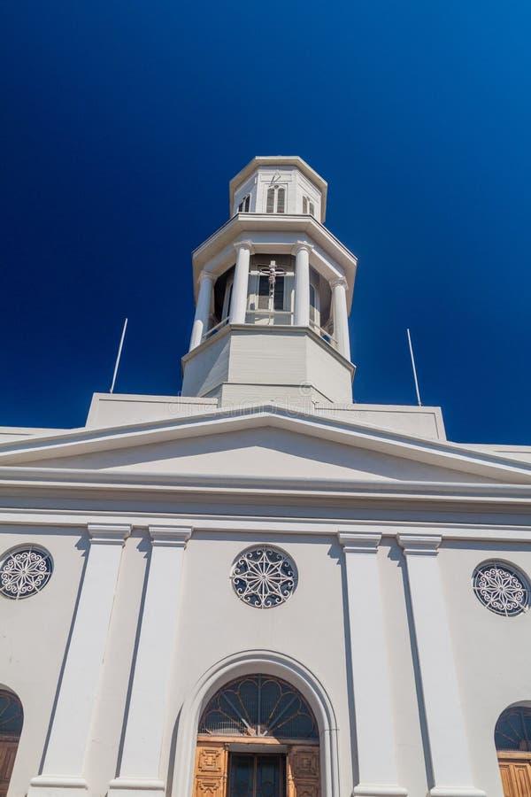 Iglesia de la Matriz church in Valparaiso, Chi royalty free stock photography