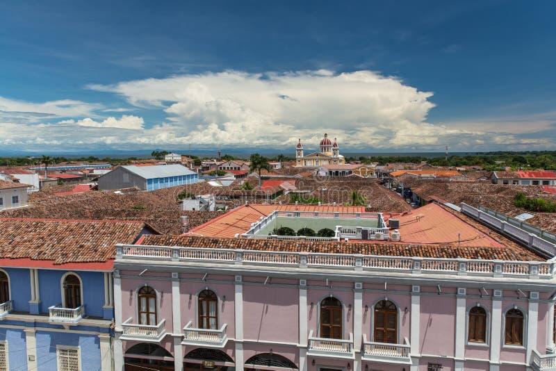 Iglesia de la Merced, Grenade, Nicaragua photos stock