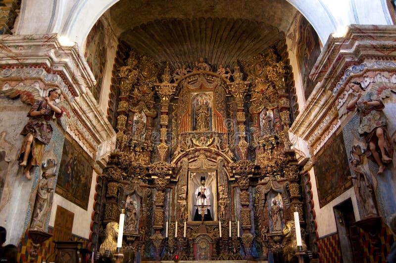 Iglesia de la misión de San Javier del Bac imagen de archivo