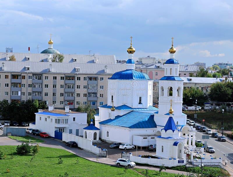 Iglesia de la natividad de la Virgen María bendecida (Paraskeva) imágenes de archivo libres de regalías