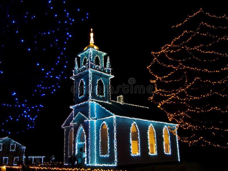Iglesia de la Navidad foto de archivo