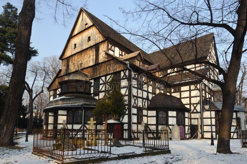 Iglesia de la paz - sitio del patrimonio mundial de la UNESCO fotografía de archivo libre de regalías