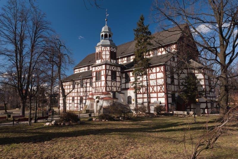 Iglesia de la paz - sitio del patrimonio mundial de la UNESCO fotografía de archivo
