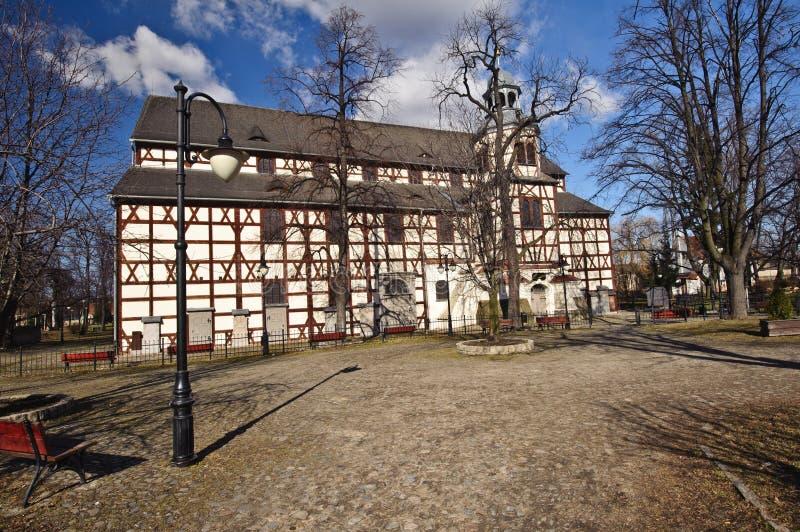 Iglesia de la paz - sitio del patrimonio mundial de la UNESCO imagen de archivo