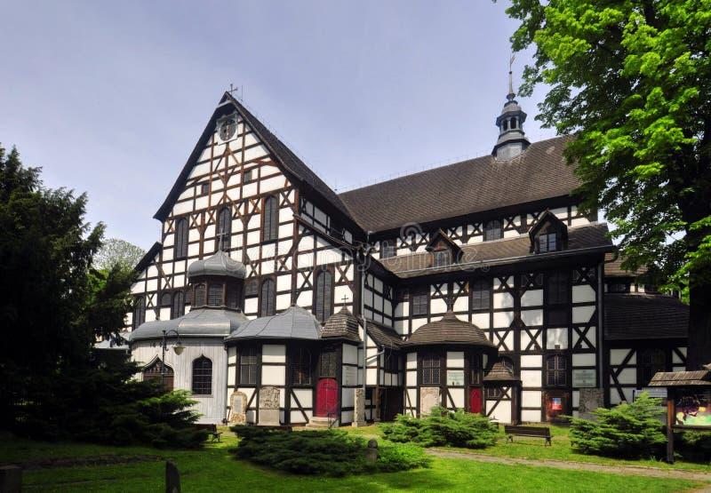 Iglesia de la paz - Swidnica foto de archivo libre de regalías