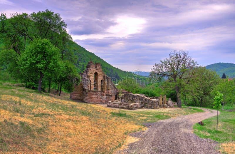 Iglesia de la Santa Madre de Dios, KurÅ¡umlija foto de archivo libre de regalías