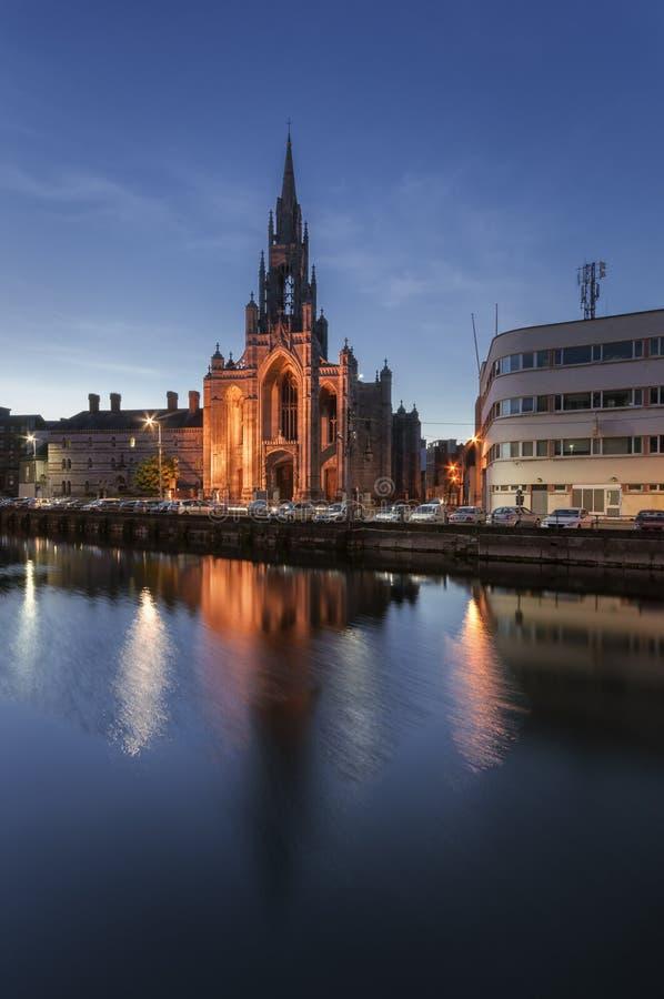 Iglesia de la trinidad santa, Cork City, Irlanda foto de archivo libre de regalías