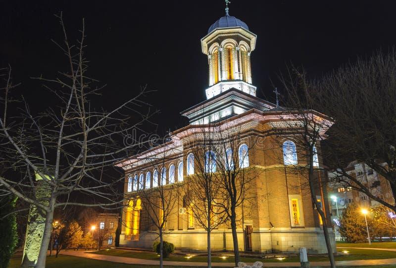 Iglesia de la trinidad santa Craiova, Rumania fotografía de archivo