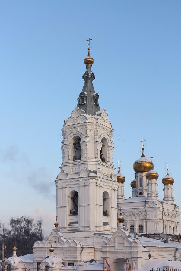 Iglesia de la trinidad santa en el monasterio Stefanov de la trinidad santa fotos de archivo libres de regalías