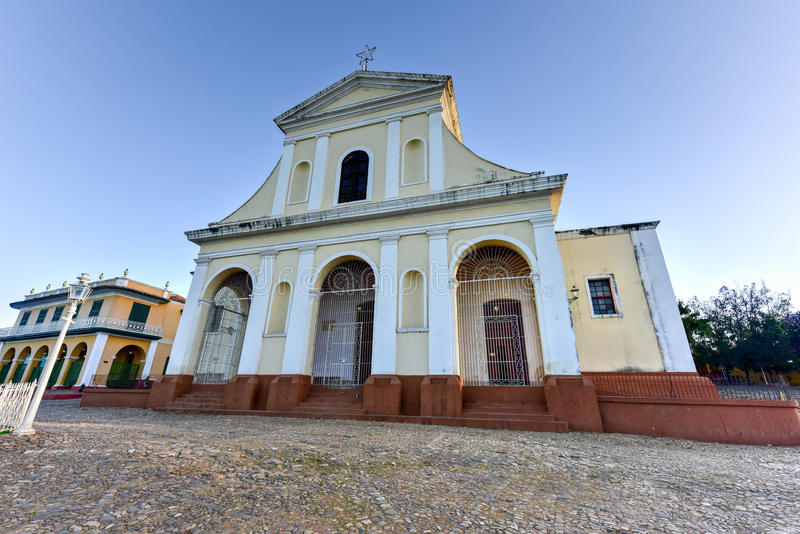 Iglesia de la trinidad santa - Trinidad, Cuba foto de archivo